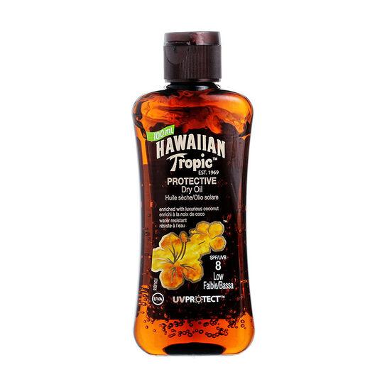 Hawaiian Tropic  Protective Mini Oil 100ml SPF 8 100ml, , large