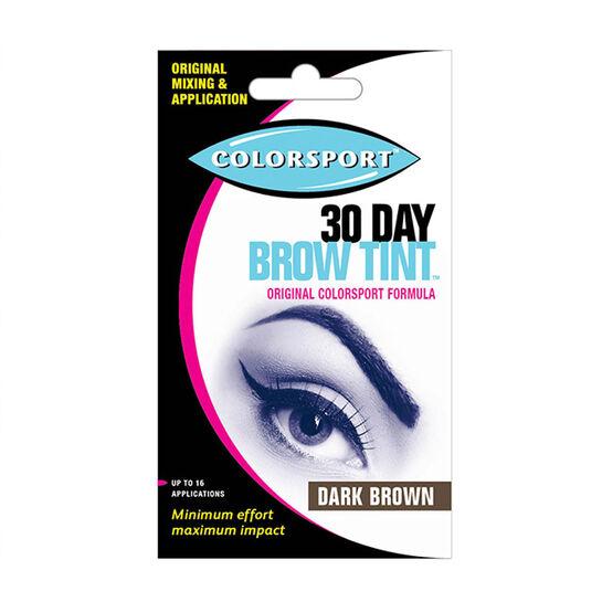 Colorsport Diva 30 Day Brow Tint Dark Brown, , large