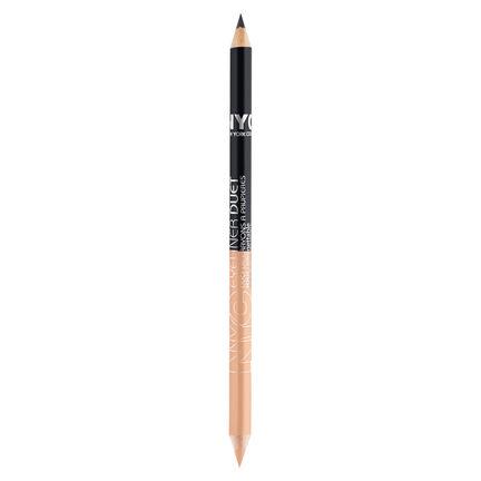 NYC Eyeliner Duet Pencil 1.4g, , large