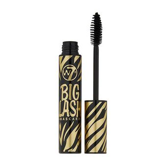 W7 Big Lash Mascara 8g Blackest Black, , large