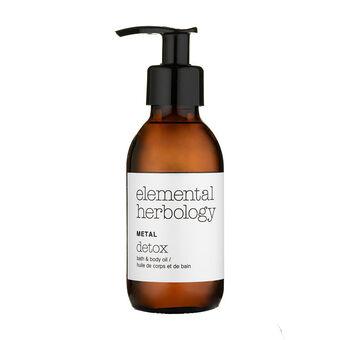 elemental herbology Metal Bath & Body Oil 145ml, , large