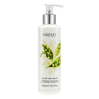 Yardley Lily of the Valley Moisturising Body Lotion 250ml, , large