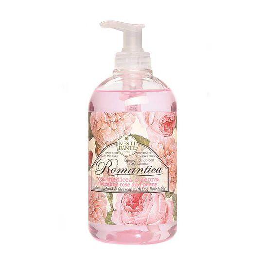 Nesti Dante Romantica Rose & Peony Liquid Soap 500ml, , large