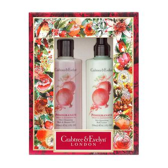 Crabtree & Evelyn Pomegranate Body Care Duo, , large