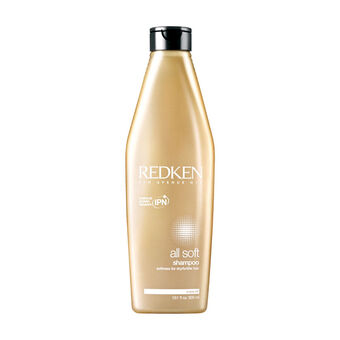 Redken All Soft Brittle Hairt Shampoo 300ml, , large