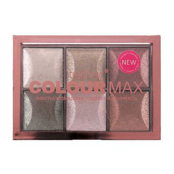 Technic Colourmax Baked Eyeshadow 6 x 2g, , large