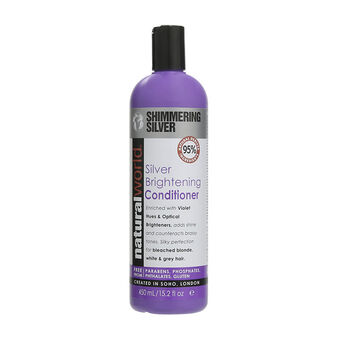 Natural World Silver Brightening Conditioner 450ml, , large