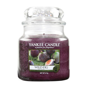 Yankee Candle Medium Jar Wild Fig, , large