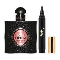 YSL Black Opium Eau de Parfum Spray Gift Set 50ml, , large