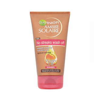 Garnier Ambre Solaire Wash Off Bronzer Gel Shimmer 150ml, , large
