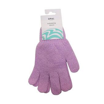 Opal Crafts Exfoliating Gloves Violet, , large