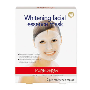 Purederm Whitening Facial Essence Mask , , large