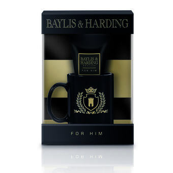 Baylis & Harding Black Pepper & Ginseng Mug Gift Set, , large