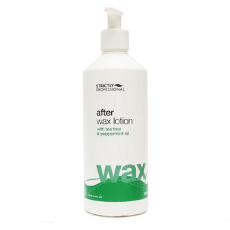 Strictly Professsional After Wax Lotion 500ml Tea Tree, , large