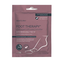 BeautyPro Foot Therapy Collagen Infused Bootie, , large