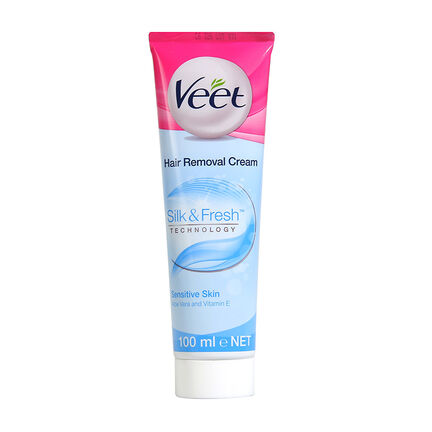 Veet 5 Minute Hair Removal Cream 100ml Sensitive Skin, , large
