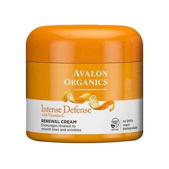 Avalon Organics Vitamin C Renewal Facial Cream 57g, , large