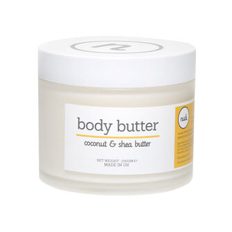 Nudi Coconut and Shea Body Butter 250g, , large