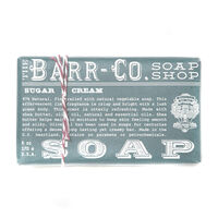 Barr-Co Sugar & Cream Soap Shop Bar Soap 170g, , large