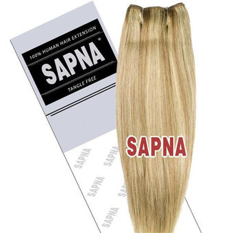 SAPNA Euro Weave Hair Extensions 18 Inch P10/613, , large