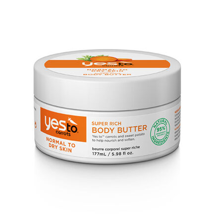 Yes To Carrot Super Rich Body Butter 177ml, , large