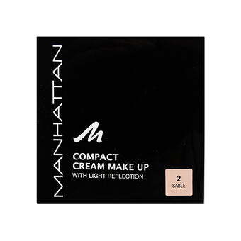 Manhattan Compact Cream Make Up 10g, , large