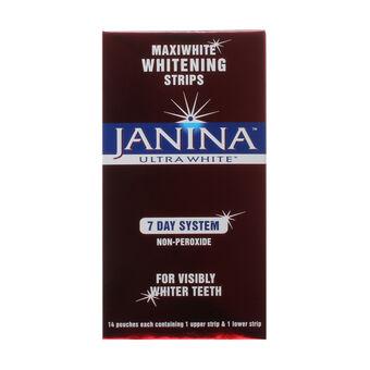 Janina Ultra White Maxiwhite Whitening Strips 7 Day System, , large