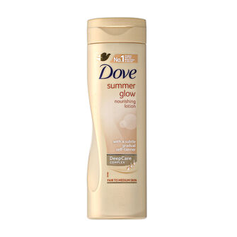 Dove Summer Glow Body Lotion Fair to Medium Skin 250ml, , large