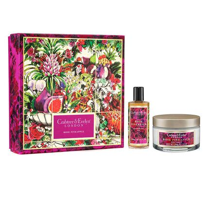 Crabtree & Evelyn RosePinapple Luxury Duo, , large