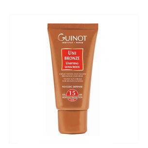 Guinot Uni Bronze Unifying Sunscreen SPF15 50ml, , large