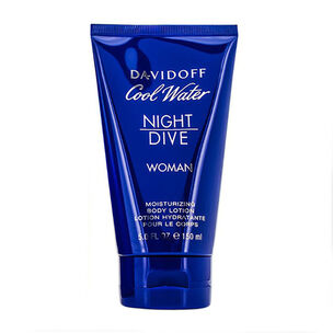Davidoff Cool Water Night Dive Woman Body Lotion 150ml, , large