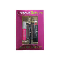 Creative Colours Lip & Mirror Set, , large