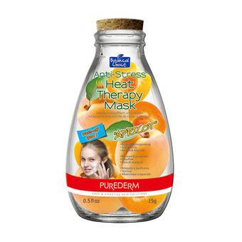 Purederm Anti Stress Heat Therapy Apricot Mask 15ml, , large