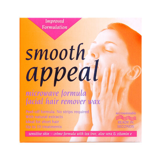 Smooth Appeal Facial Hair Remover Wax 40g, , large