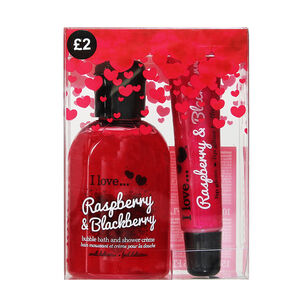 I Love Perfect Party Raspberry & Blackberry Gift Set, , large