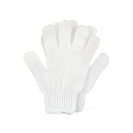 Opal Crafts White Exfoliating Gloves, , large