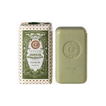 Claus Porto Agua Colonia Vetyver Soap Bar With Wax Seal 150g, , large