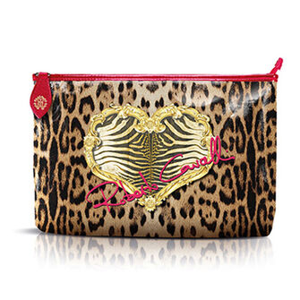 Roberto Cavalli Leopard Pouch, , large