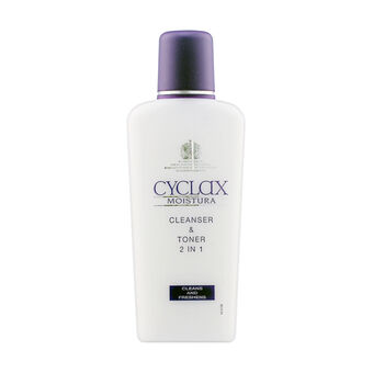 Cyclax Moistura 2 In 1 Cleanser & Toner 200ml, , large