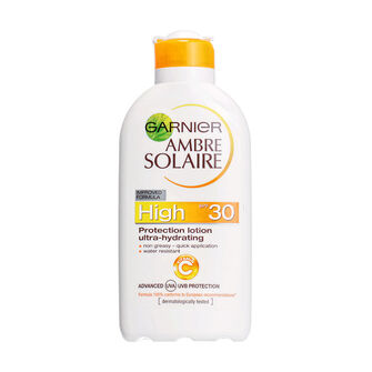 Garnier Ambre Solaire UltraHydrating Protection Lotion SPF30, , large