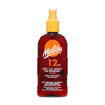 Malibu Sun Dry Oil Spray SPF12 200ml, , large