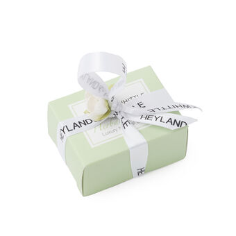 Heyland & Whittle Herbal Mint Mini Soap Favour Boxed 45g, , large