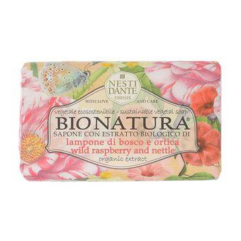 Nesti Dante Bio Natura Wild Raspberry & Nettle Soap 250g, , large