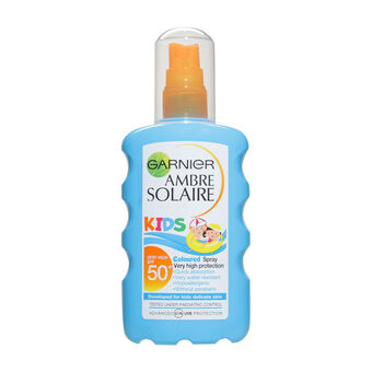 Garnier Ambre Solaire Kids Spray Resisto Coloured SPF50+, , large