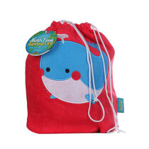 Bath Time Adventures Whale Drawstring Wash Bag, , large