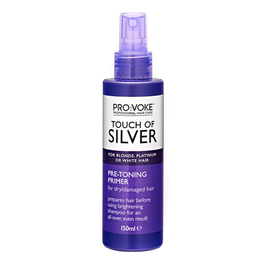 PRO:VOKE Touch of Silver Pre-Toning Primer 150ml, , large