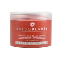 Kaeso Mandarin Black Pepper Sugar Body Scrub 450ml, , large