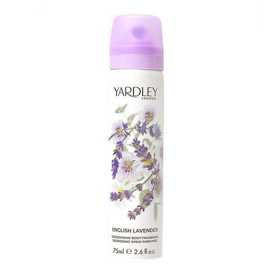 Yardley English Lavender Refreshing Body Spray 75ml, , large