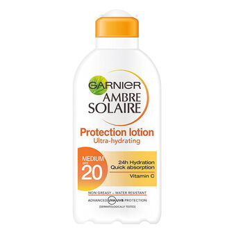 Garnier Ambre Solaire UltraHydrating Protection Lotion SPF20, , large