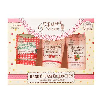 Rose & Co Patisserie De Bain Hand Cream Collection 3x 50ml, , large
